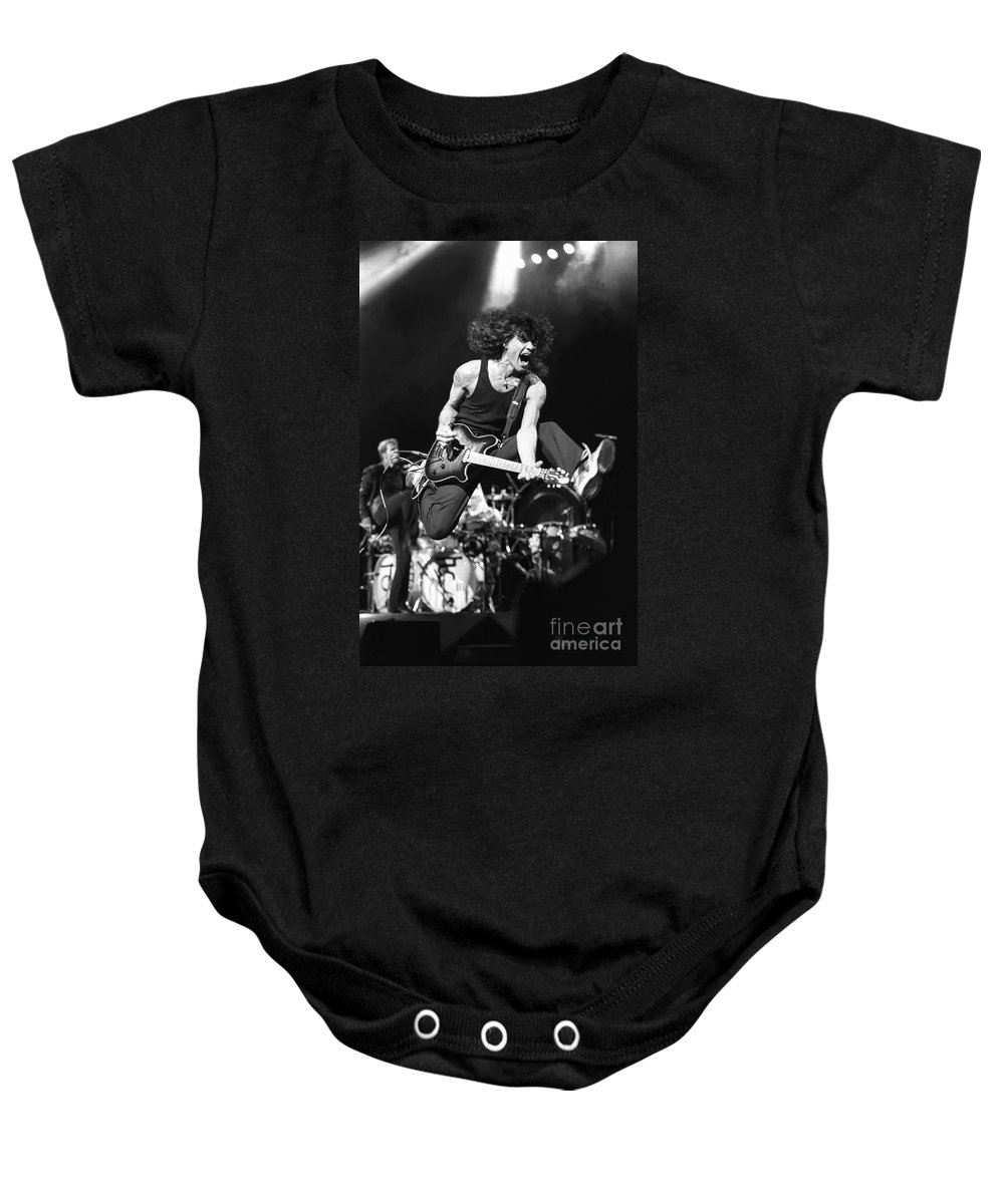 613ccfd28 Eddie Van Halen Baby Onesie featuring the photograph Van Halen - Eddie Van  Halen by Concert