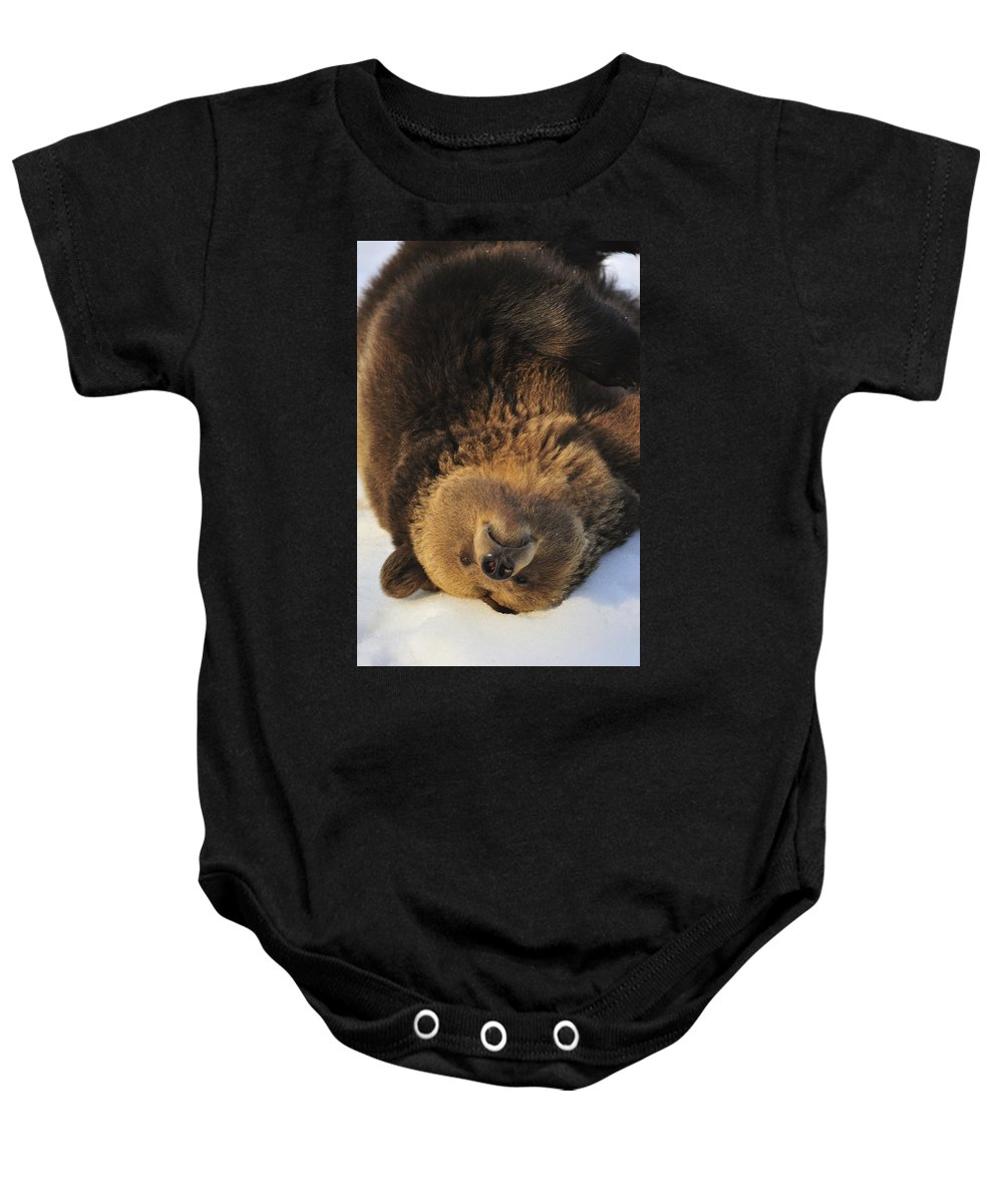 Common Baby Onesie featuring the photograph 120223p308 by Arterra Picture Library