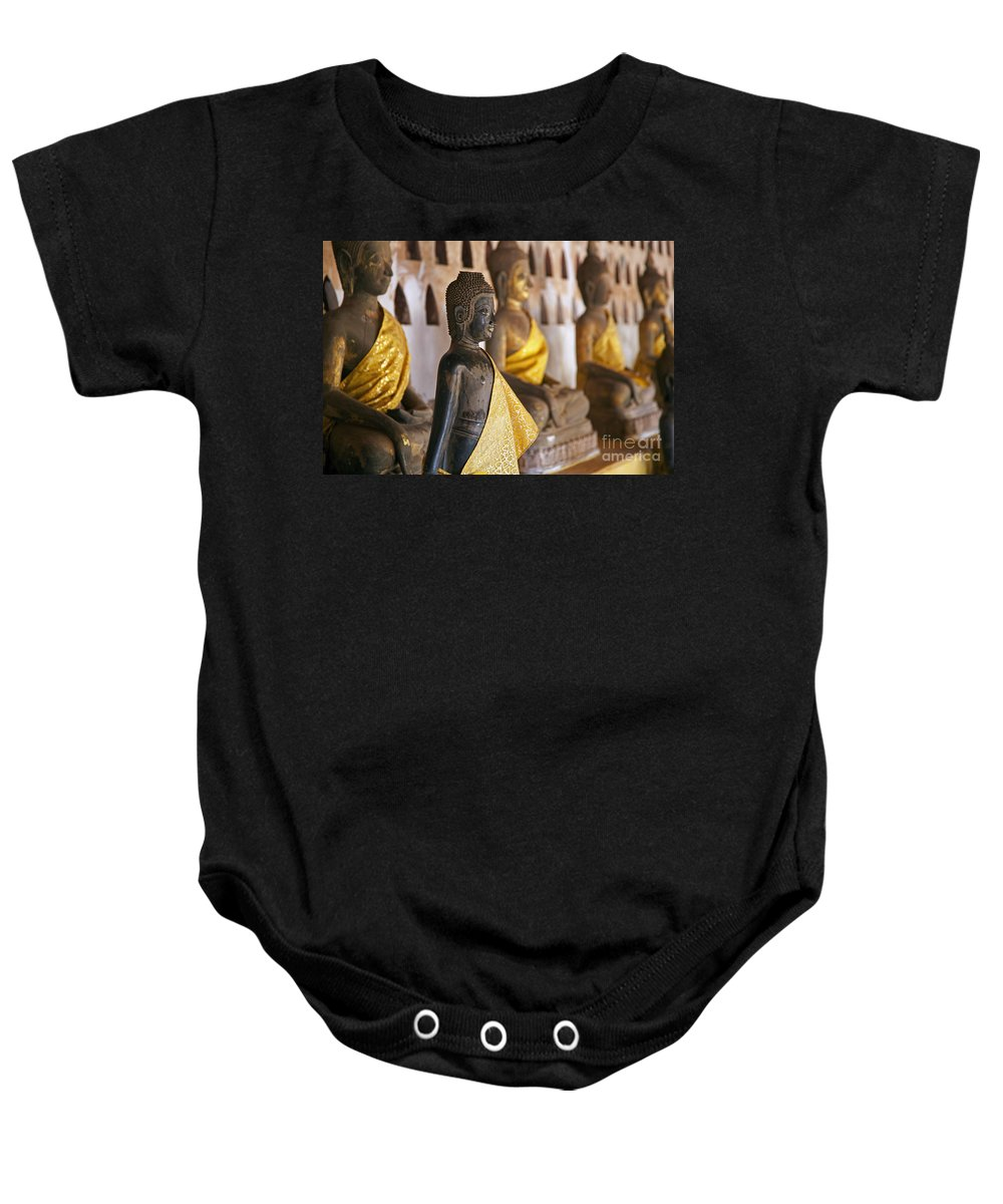 Wat Si Saket Baby Onesie featuring the photograph 130215p141 by Arterra Picture Library