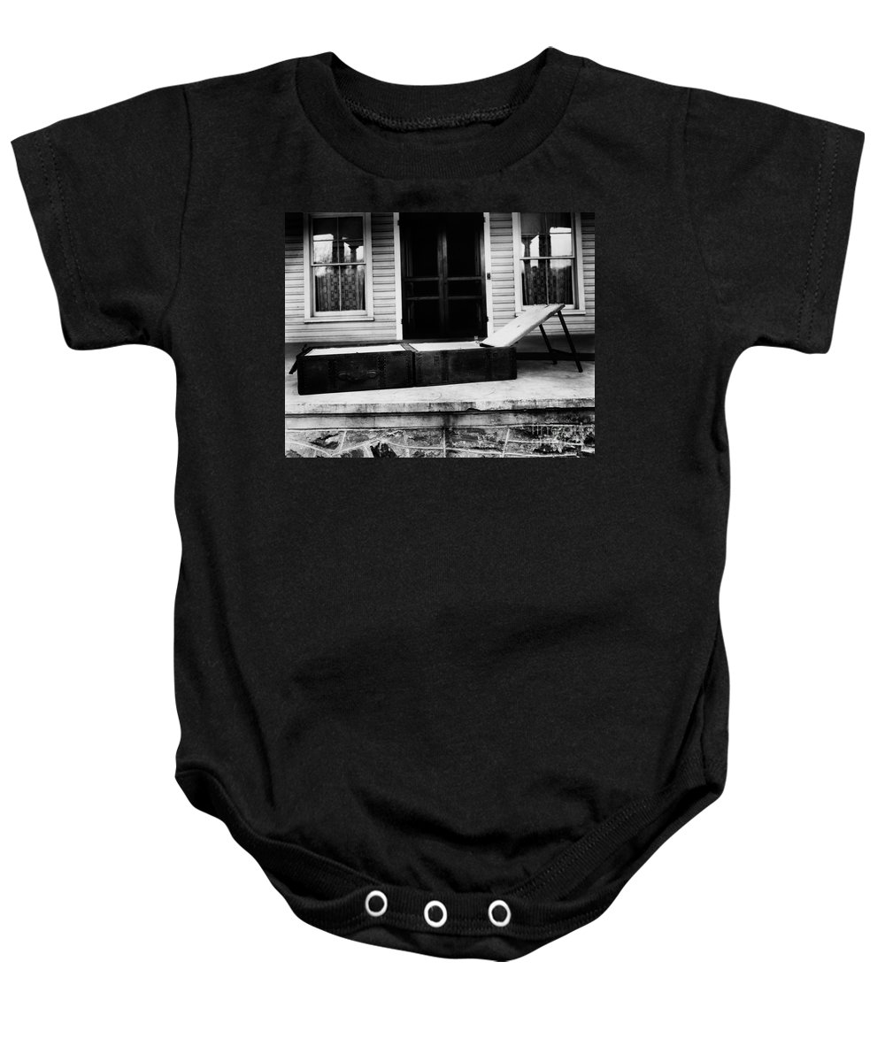 1860s Baby Onesie featuring the photograph Clara Barton (1821-1912) by Granger
