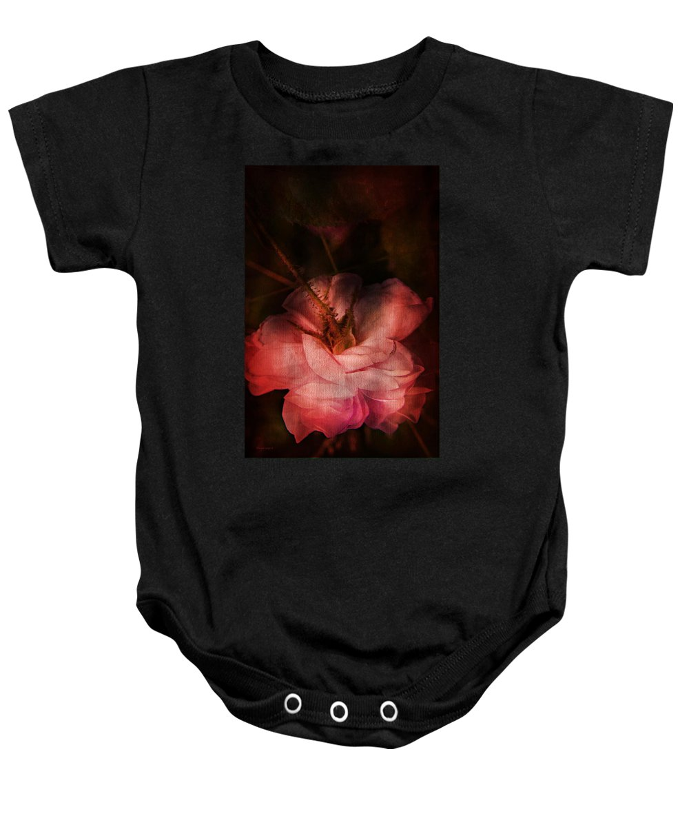 Rose Baby Onesie featuring the photograph Time Of Roses by Theresa Tahara