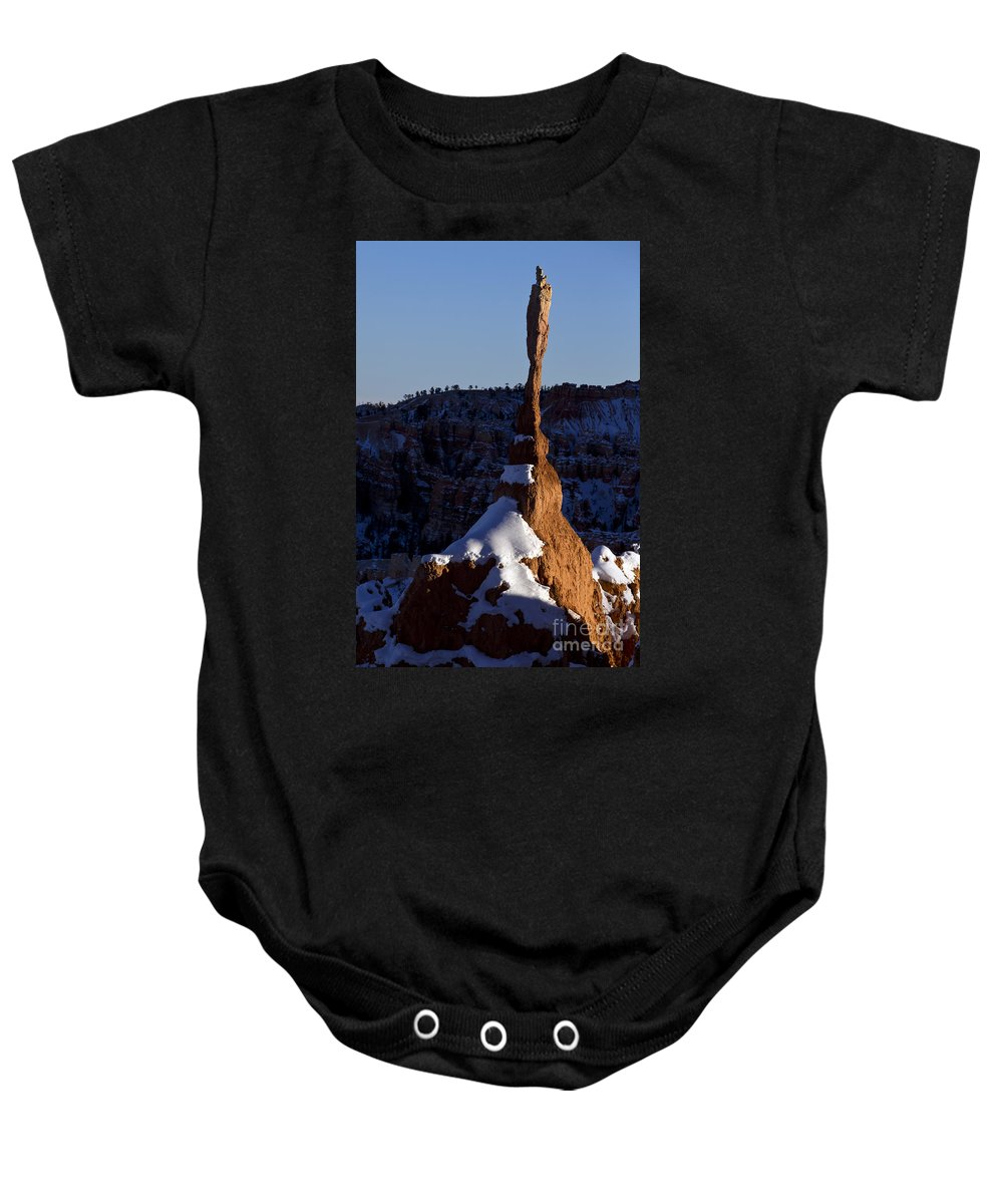 Bryce Canyon Baby Onesie featuring the photograph Bryce Canyon National Park Utah by Jason O Watson