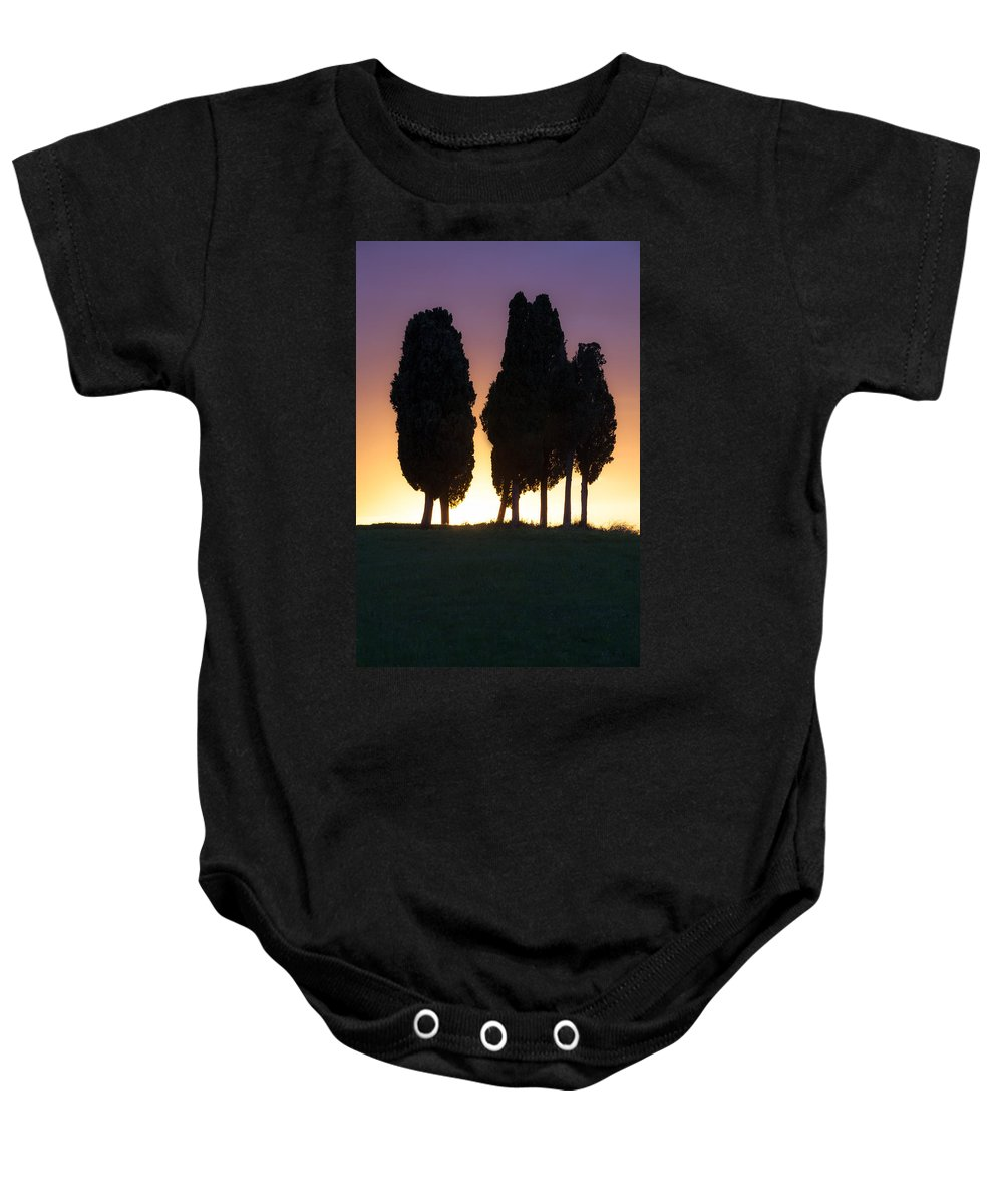 Val D'orcia Baby Onesie featuring the photograph Tuscany - Val D'orcia by Joana Kruse