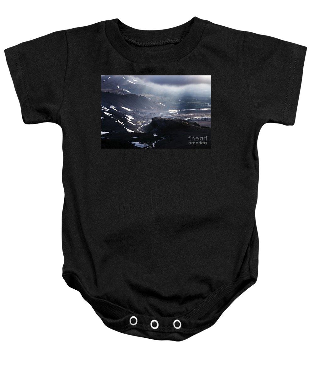 Aerial Photo Baby Onesie featuring the photograph Aerial Photo by Gunnar Orn Arnason
