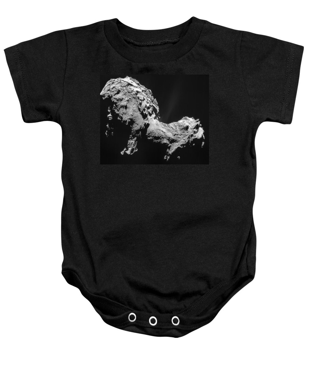 Comet Baby Onesie featuring the photograph Comet 67pchuryumov-gerasimenko by Science Source