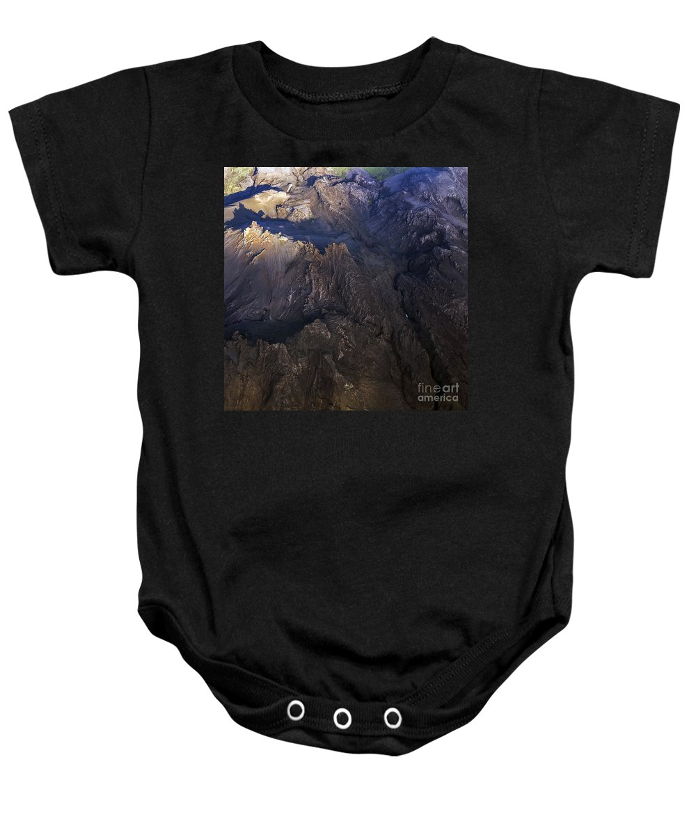 Aerial Photo Baby Onesie featuring the photograph Aerial Photo by Gunnar Orn Arnason
