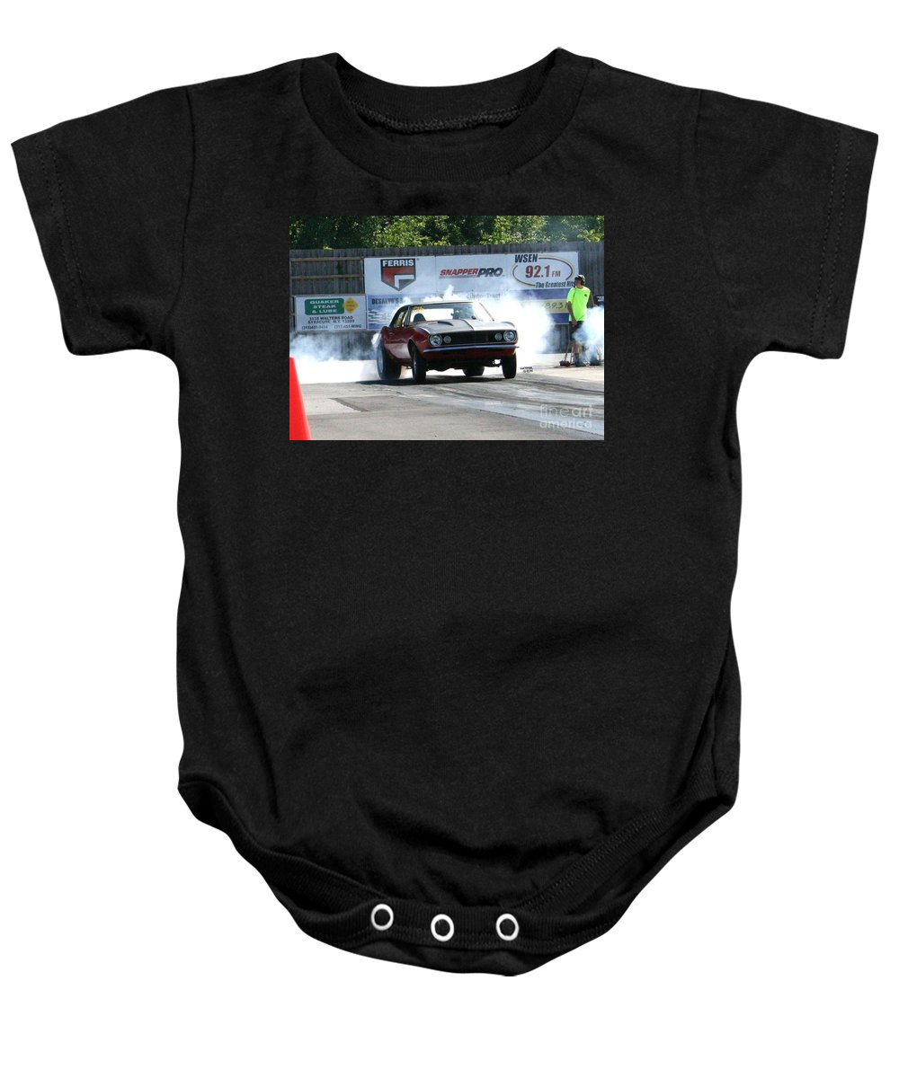 Esta Safety Park Baby Onesie featuring the photograph 4931 Esta Safety Park 08-24-14 by Vicki Hopper