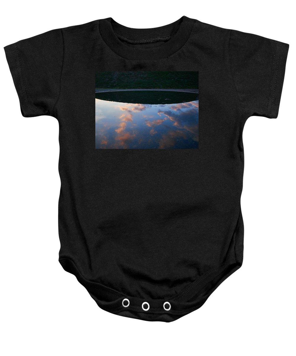 Lehto Baby Onesie featuring the photograph Up And Under by Jouko Lehto