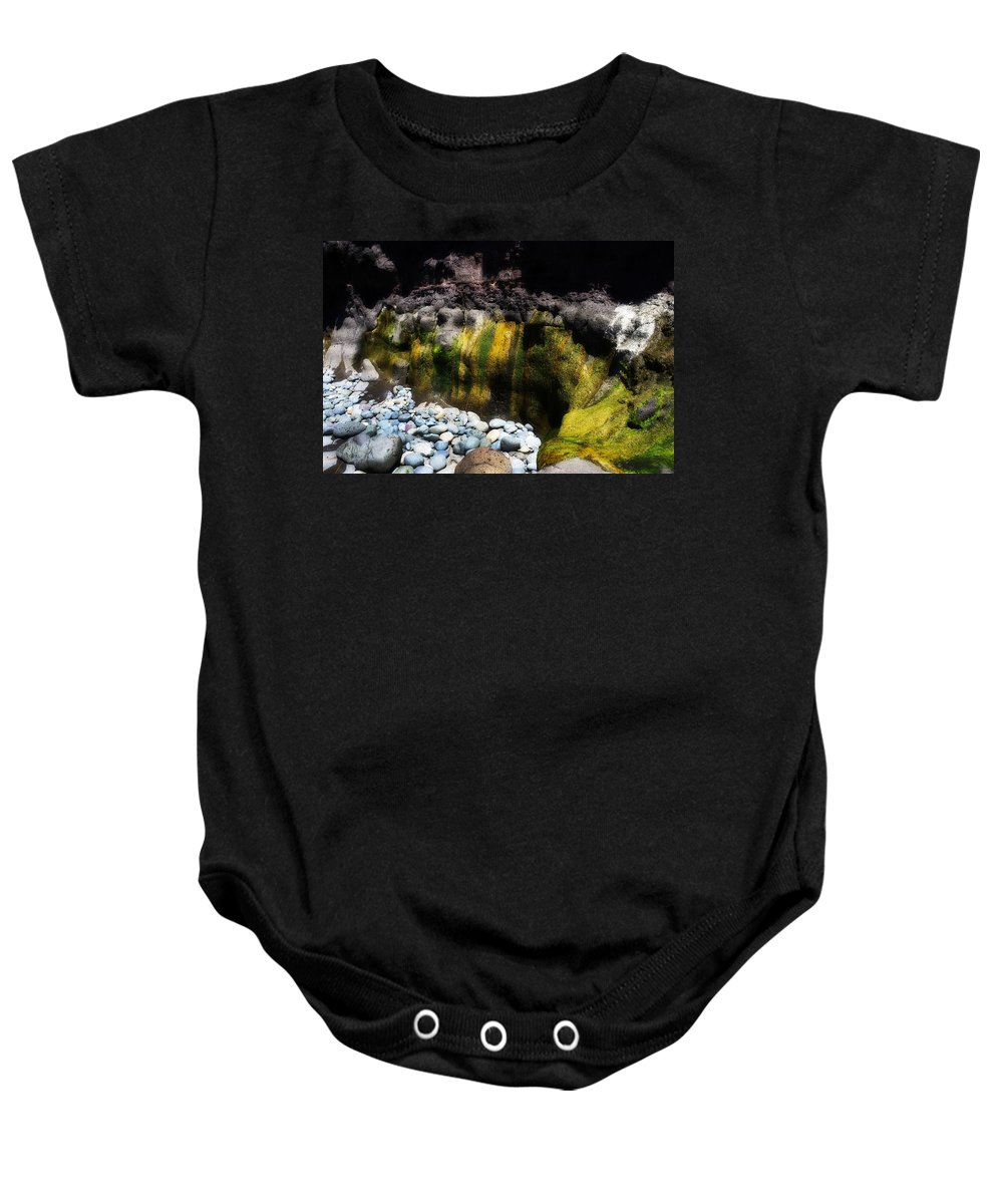 Beach Baby Onesie featuring the photograph 50 Shades Of Green by Hugh Smith