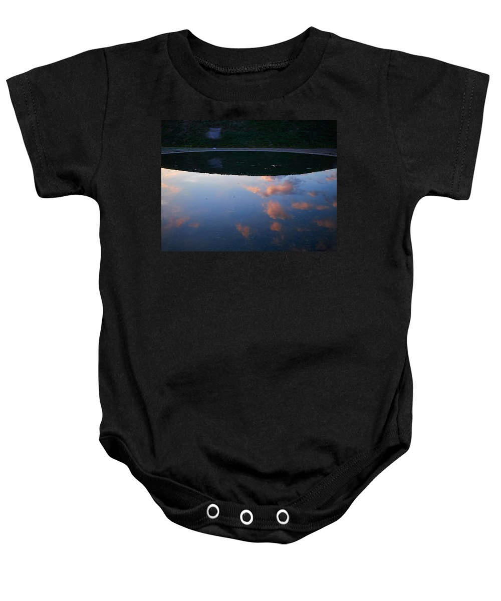 Lehto Baby Onesie featuring the photograph Up And Under by Jouko Lehto