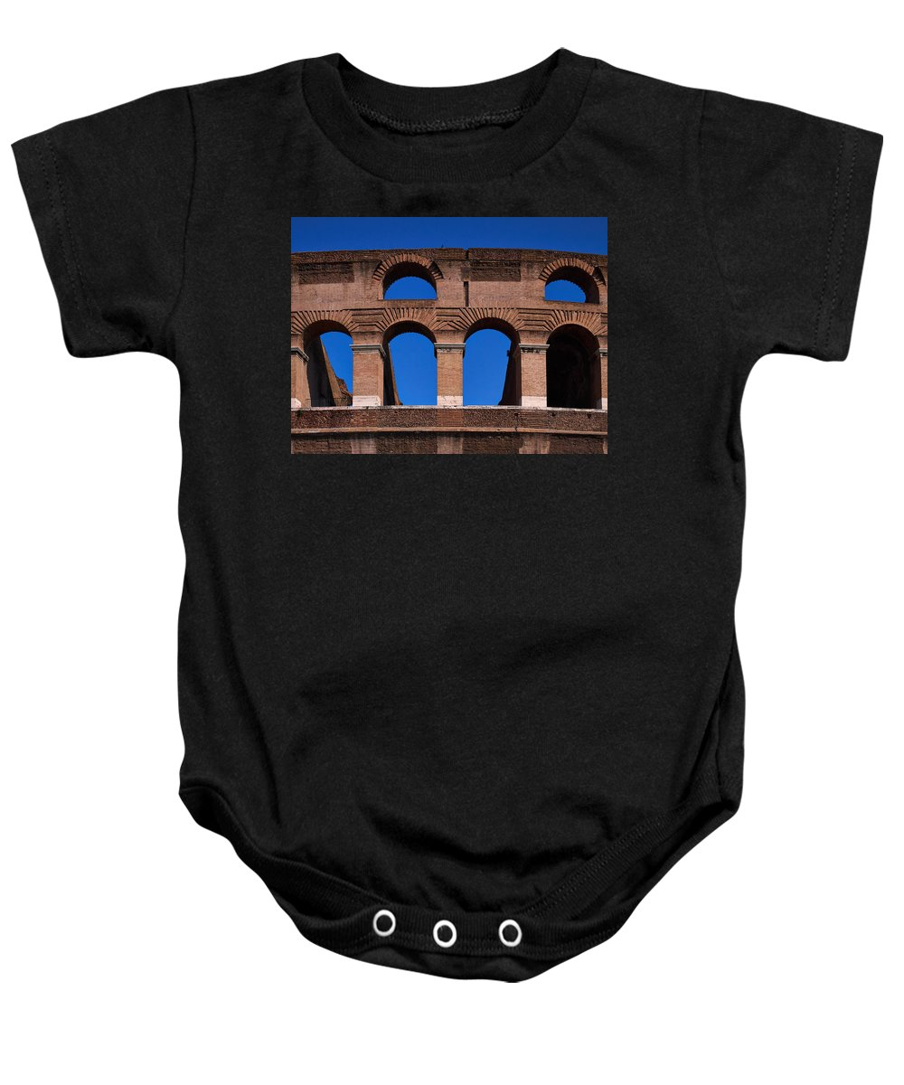 2013. Baby Onesie featuring the photograph Colosseum by Jouko Lehto