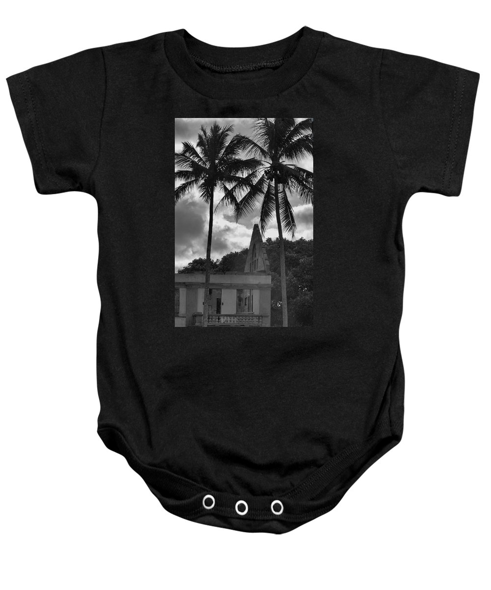 Convent Baby Onesie featuring the photograph A Convent No More by Douglas Barnard