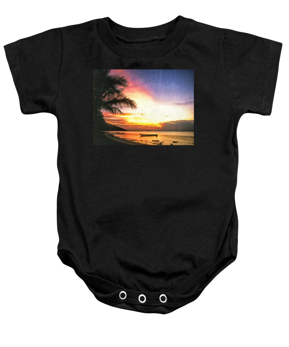 Hawaii Baby Onesie featuring the photograph A Simpler Time by Dominic Piperata