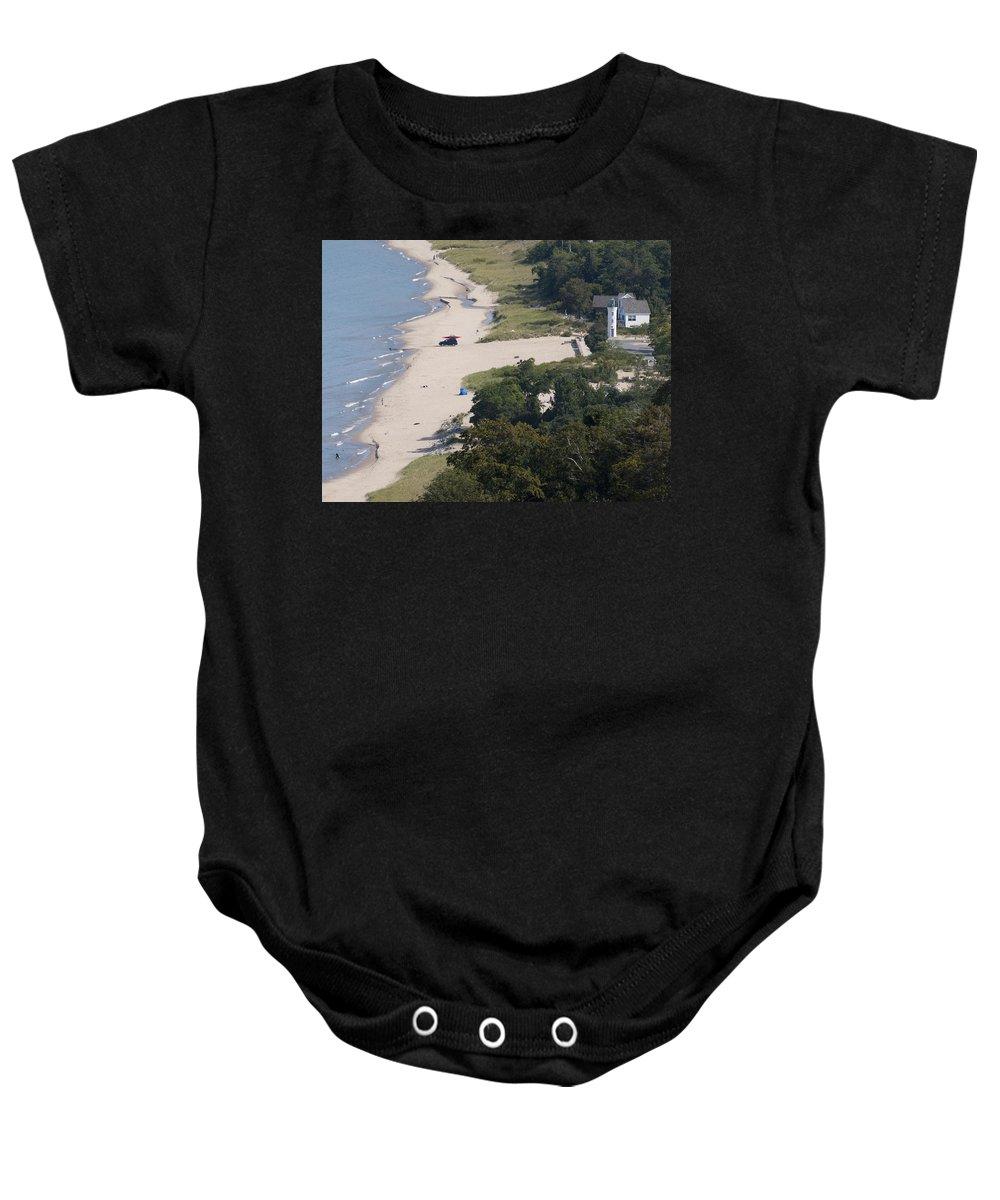 Beach Baby Onesie featuring the photograph Above View Of Empires Beach by Tara Lynn