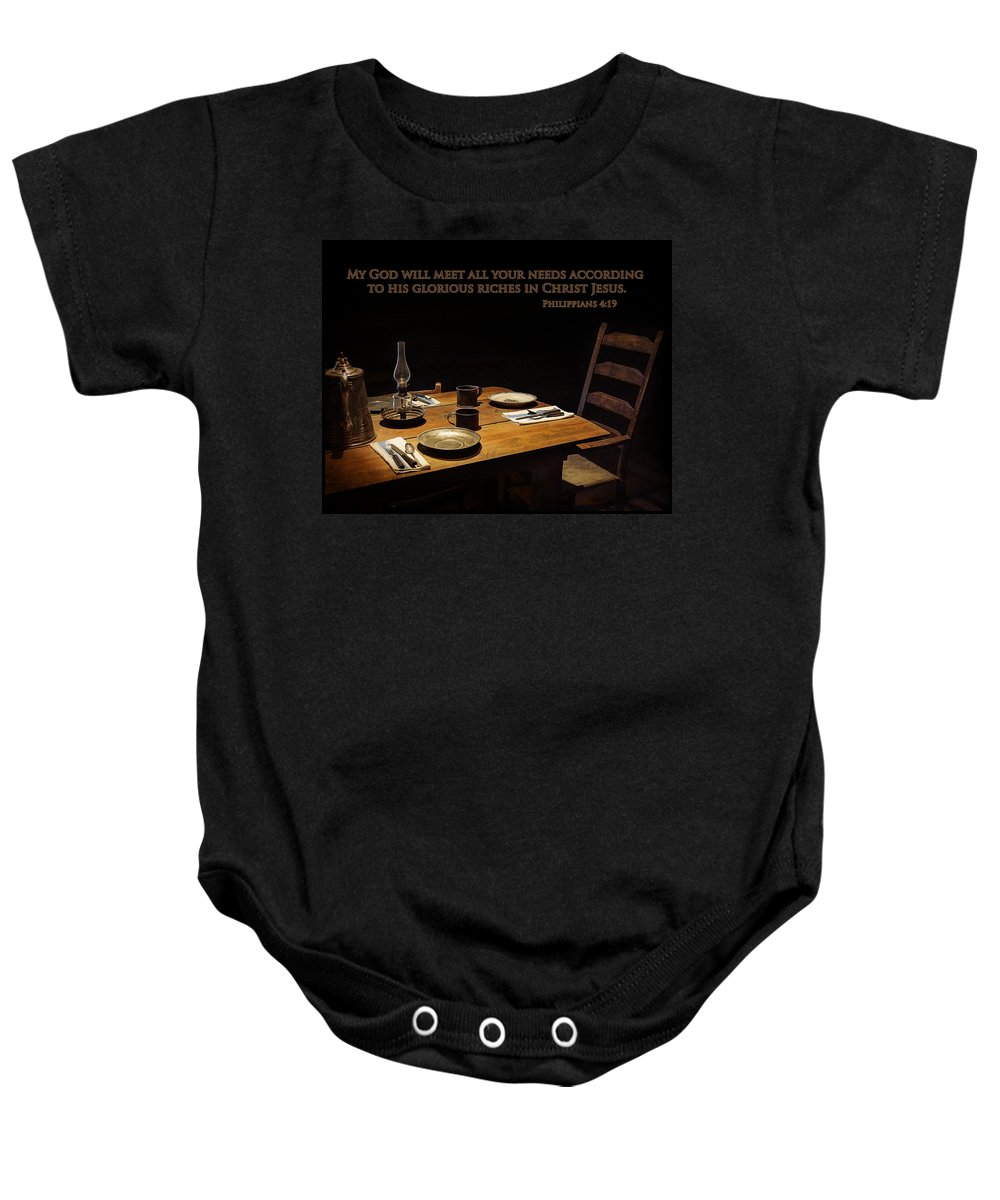Sharlott Hall Museum Baby Onesie featuring the photograph Abundance by Priscilla Burgers