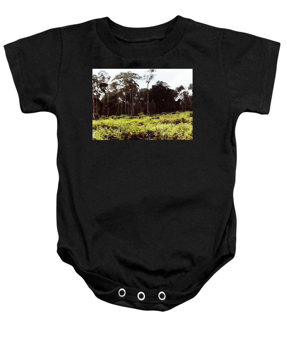 Africa Baby Onesie featuring the photograph Africa by Image Takers Photography LLC
