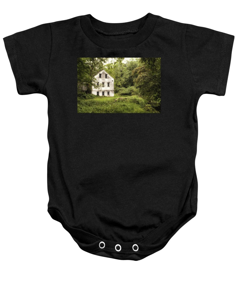 Terry D Photography Baby Onesie featuring the photograph After The Rain by Terry DeLuco