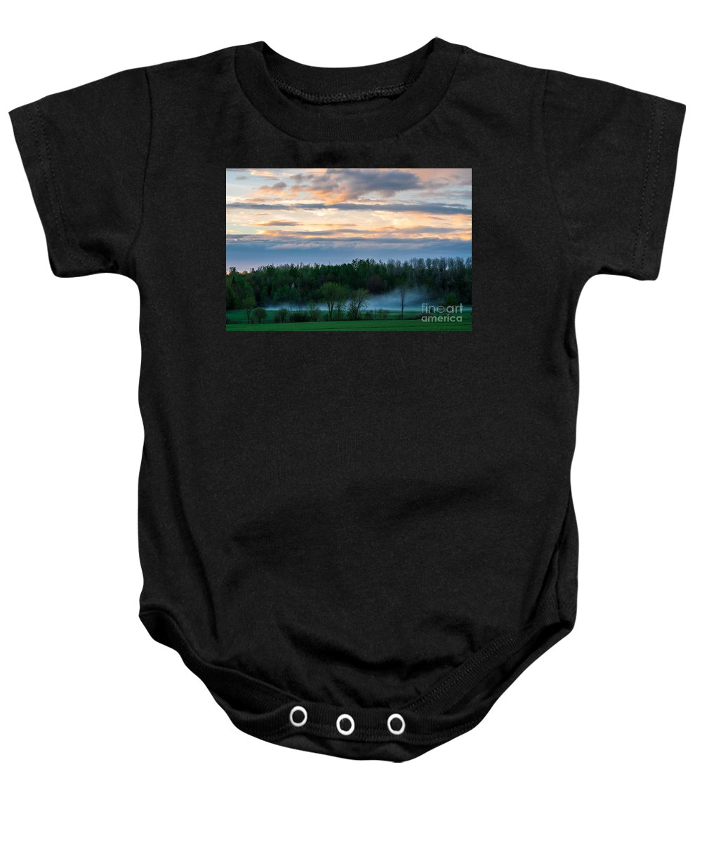 Storm Baby Onesie featuring the photograph After The Storm by Bianca Nadeau