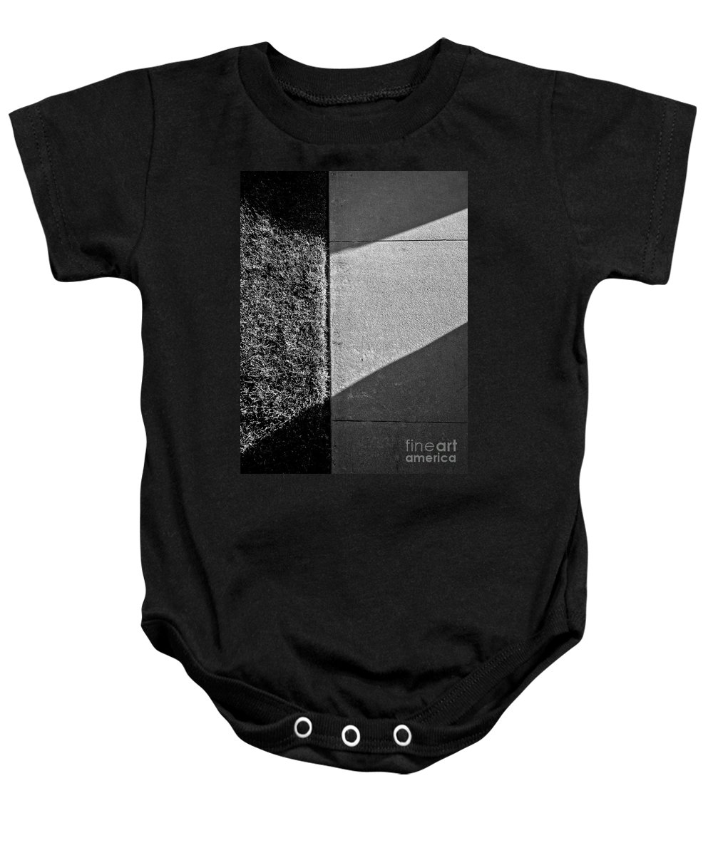 Abstract Baby Onesie featuring the photograph Airy Light by Fei A