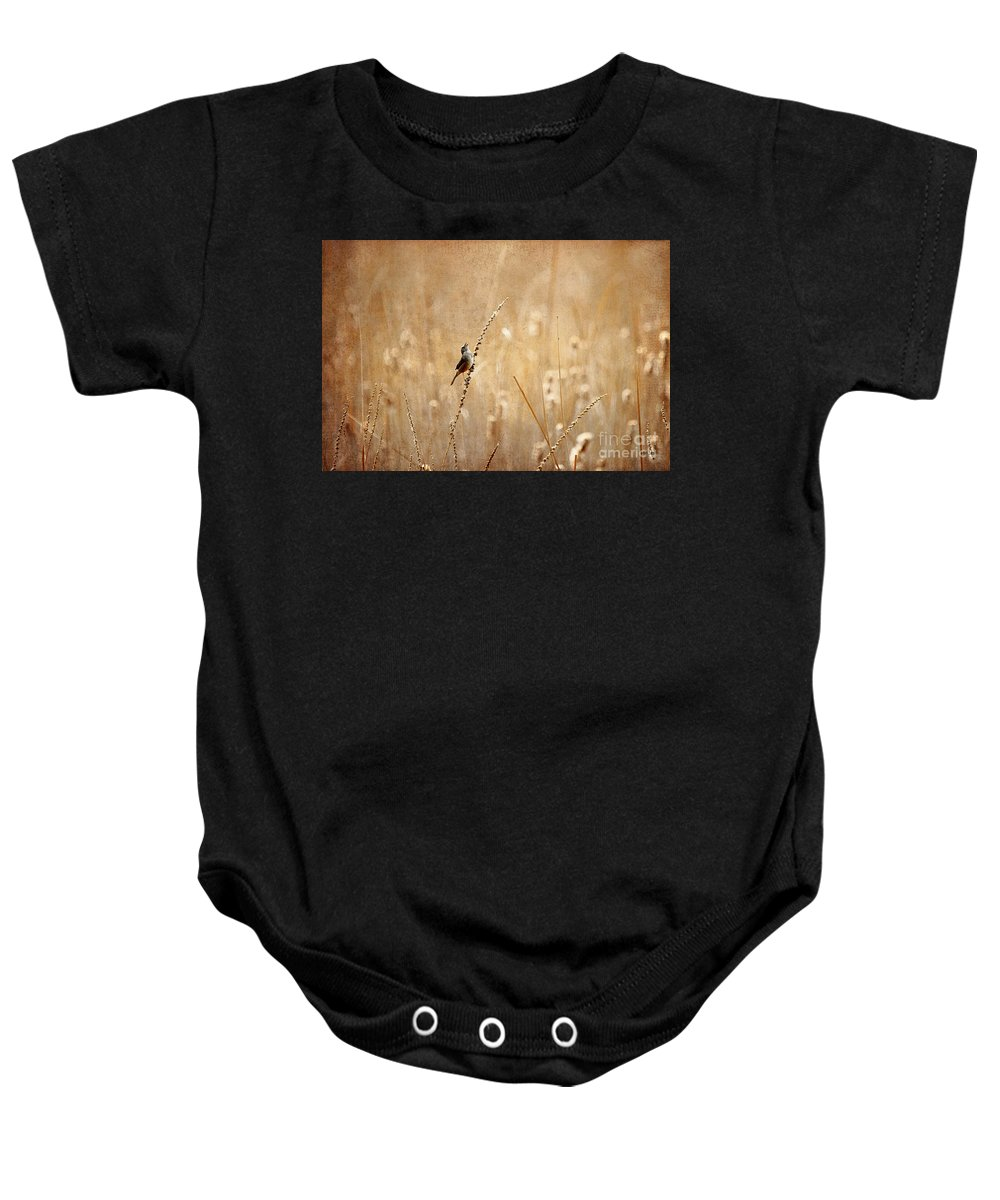 Bird Baby Onesie featuring the photograph All Rejoicing by Lois Bryan