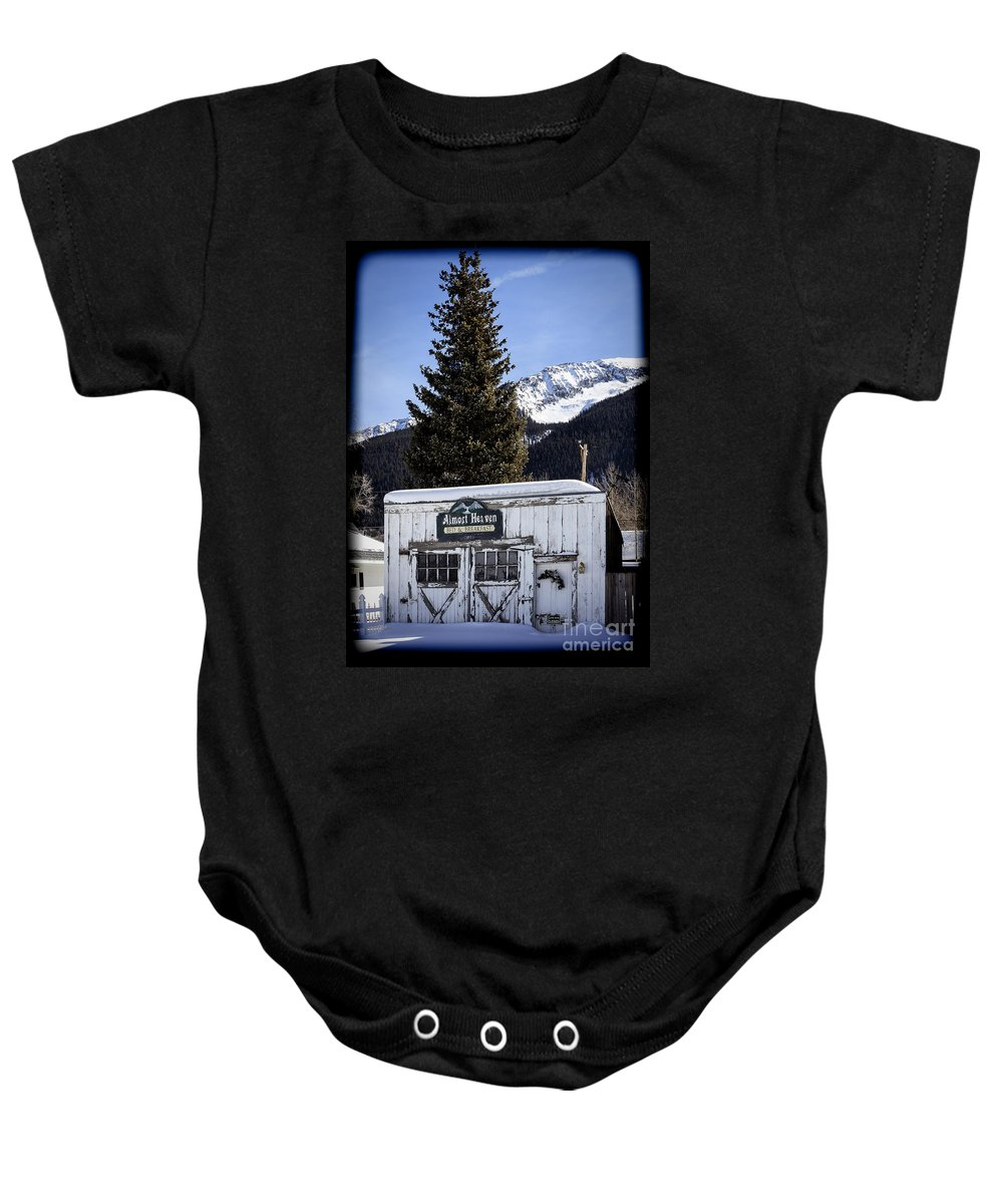 Almost Heaven Baby Onesie featuring the photograph Almost Heaven Again by Janice Pariza