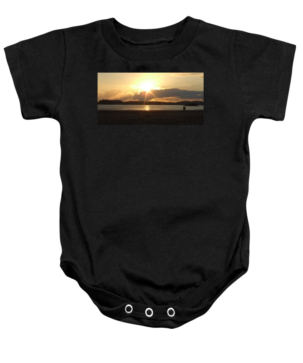 Sunset Baby Onesie featuring the photograph Almost Sundown by Mark Alan Perry