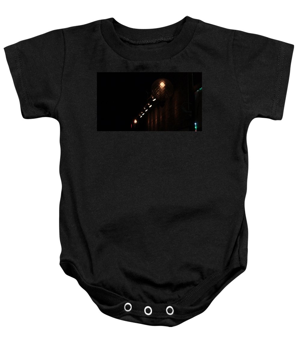 Dim Lighting Baby Onesie featuring the photograph Ambiance by Birdie Garcia
