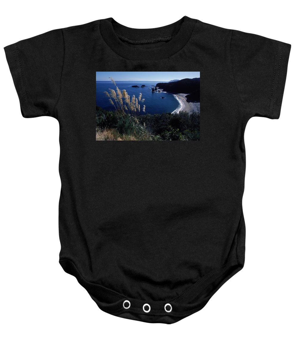 Aerial View Baby Onesie featuring the photograph An Aerial View Of The Ocean, New by Jose Azel