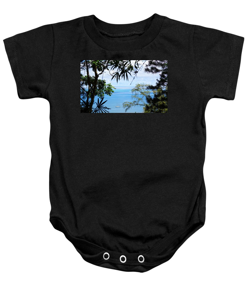 Hawaii Baby Onesie featuring the photograph Anchorage In Paradise by Kevin Smith