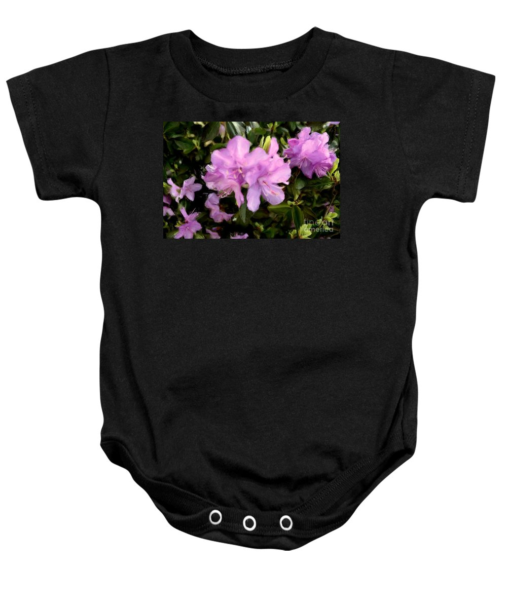 Flower Baby Onesie featuring the photograph Announcing Spring by Luther Fine Art