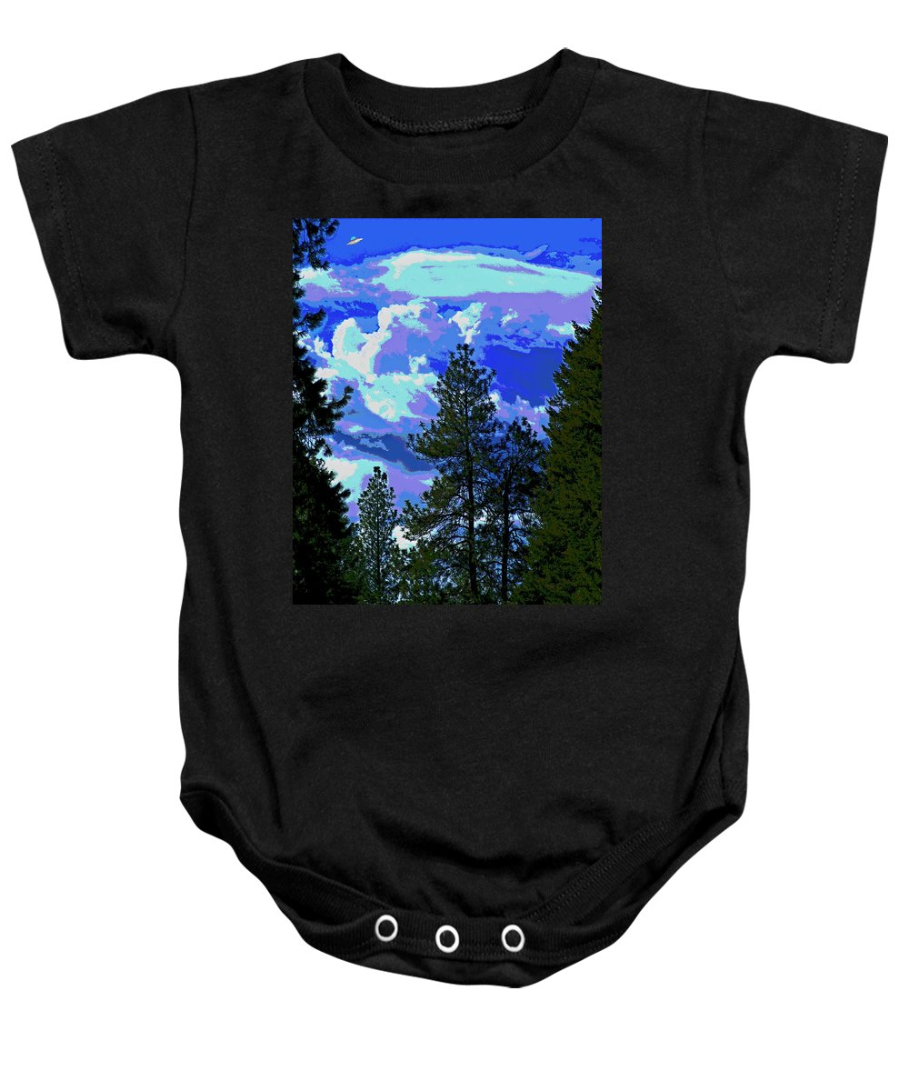 Aliens Baby Onesie featuring the photograph Another Fine Day On Planet Earth by Ben Upham III
