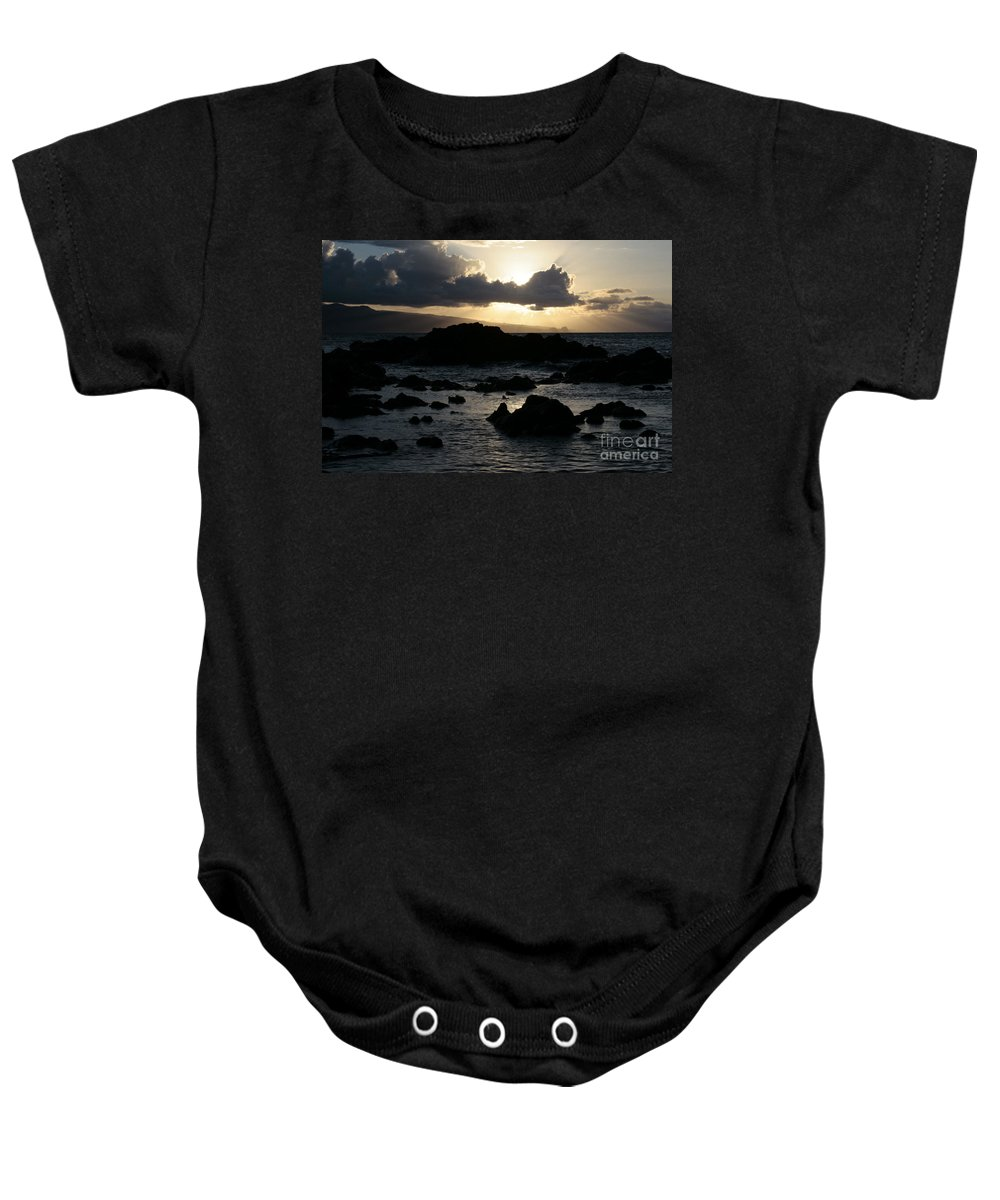 Aloha Baby Onesie featuring the photograph As Once The Winged Energy by Sharon Mau