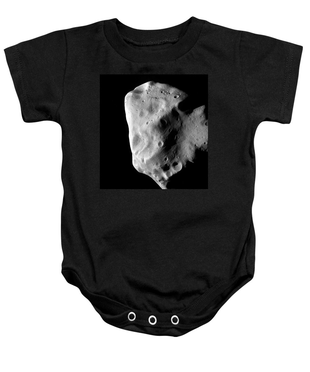 Science Baby Onesie featuring the photograph Asteroid, 21 Lutetia by Science Source