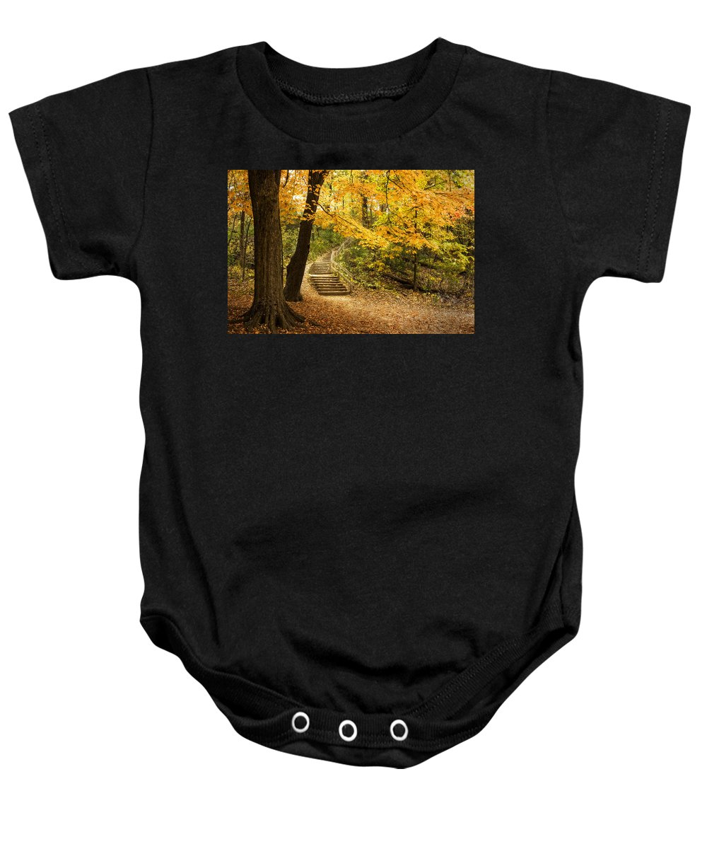 Hiking Path Baby Onesies