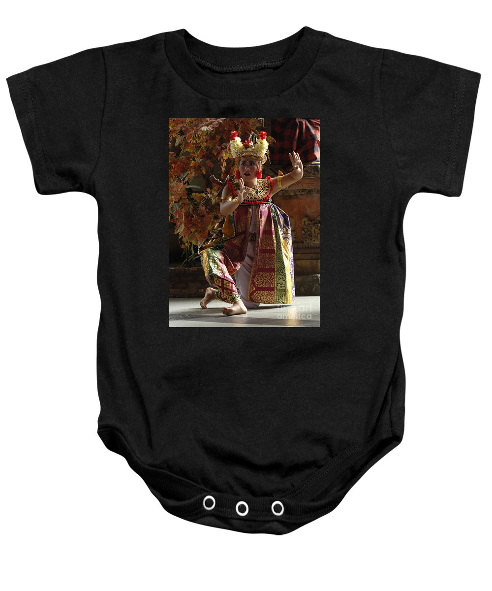Barong Dancer Baby Onesie featuring the photograph Beauty Of The Barong Dance 3 by Bob Christopher