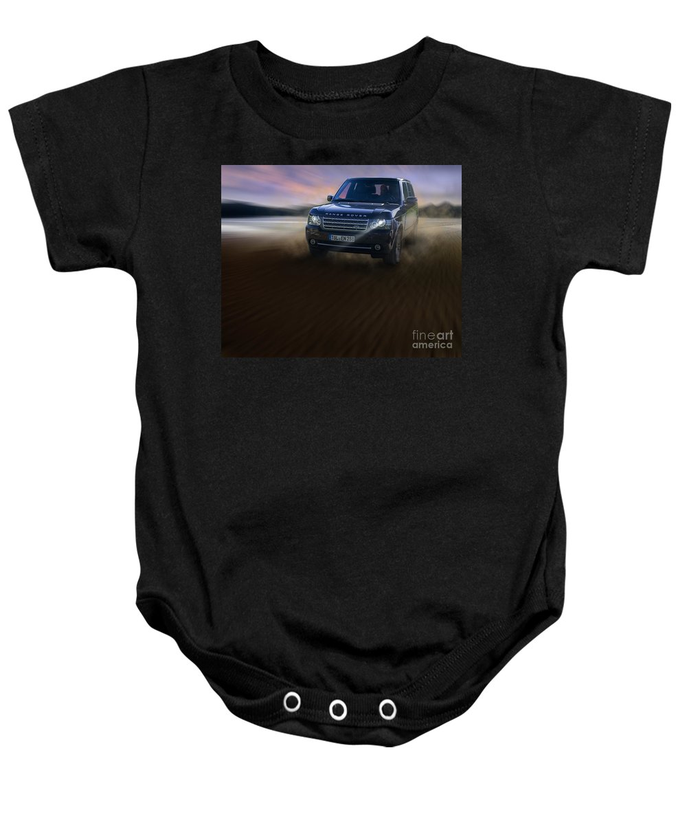 Luxury Baby Onesie featuring the photograph Black Beauty by Edmund Nagele