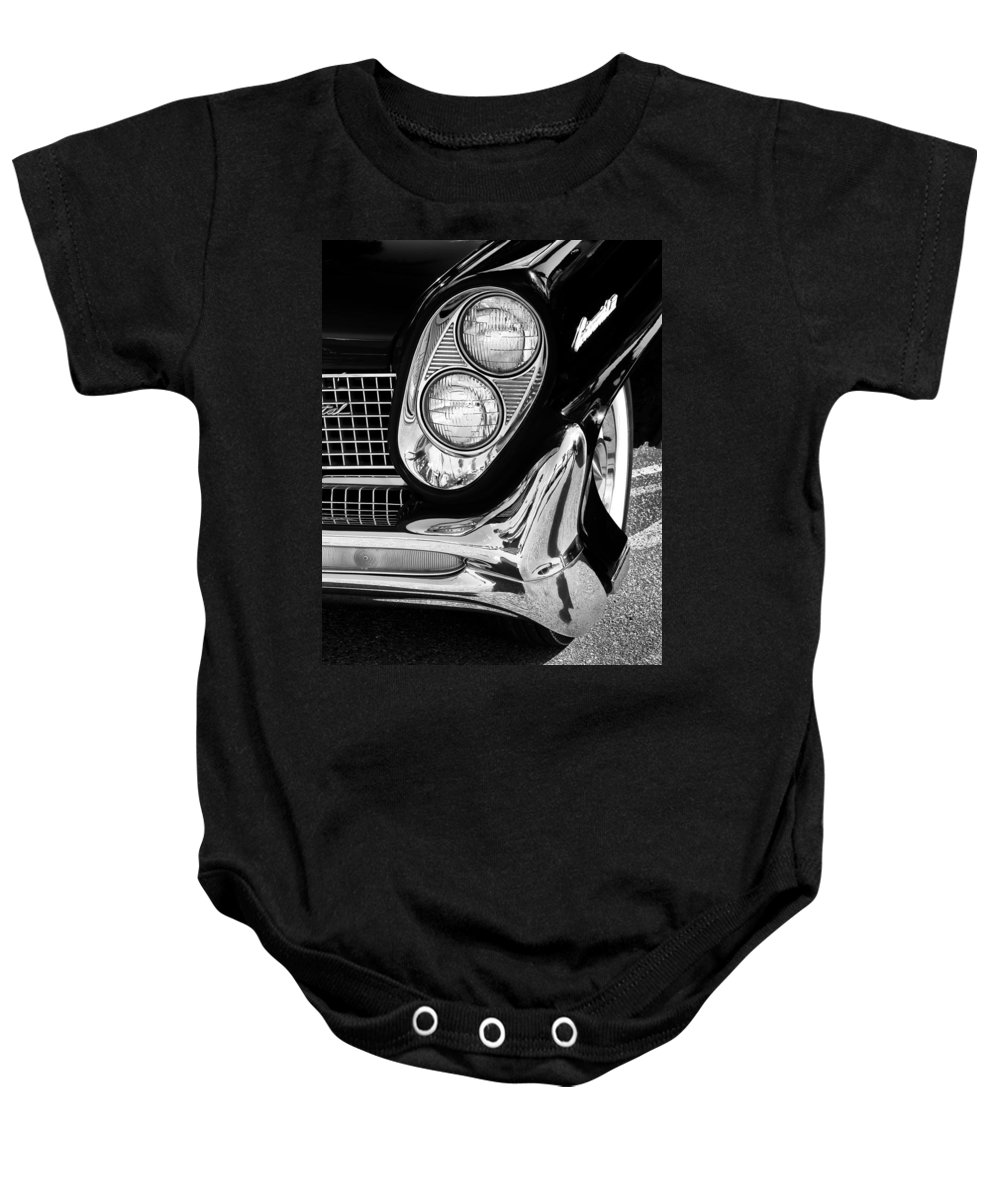 Car Auction Baby Onesie featuring the photograph Quite Continental Palm Springs by William Dey
