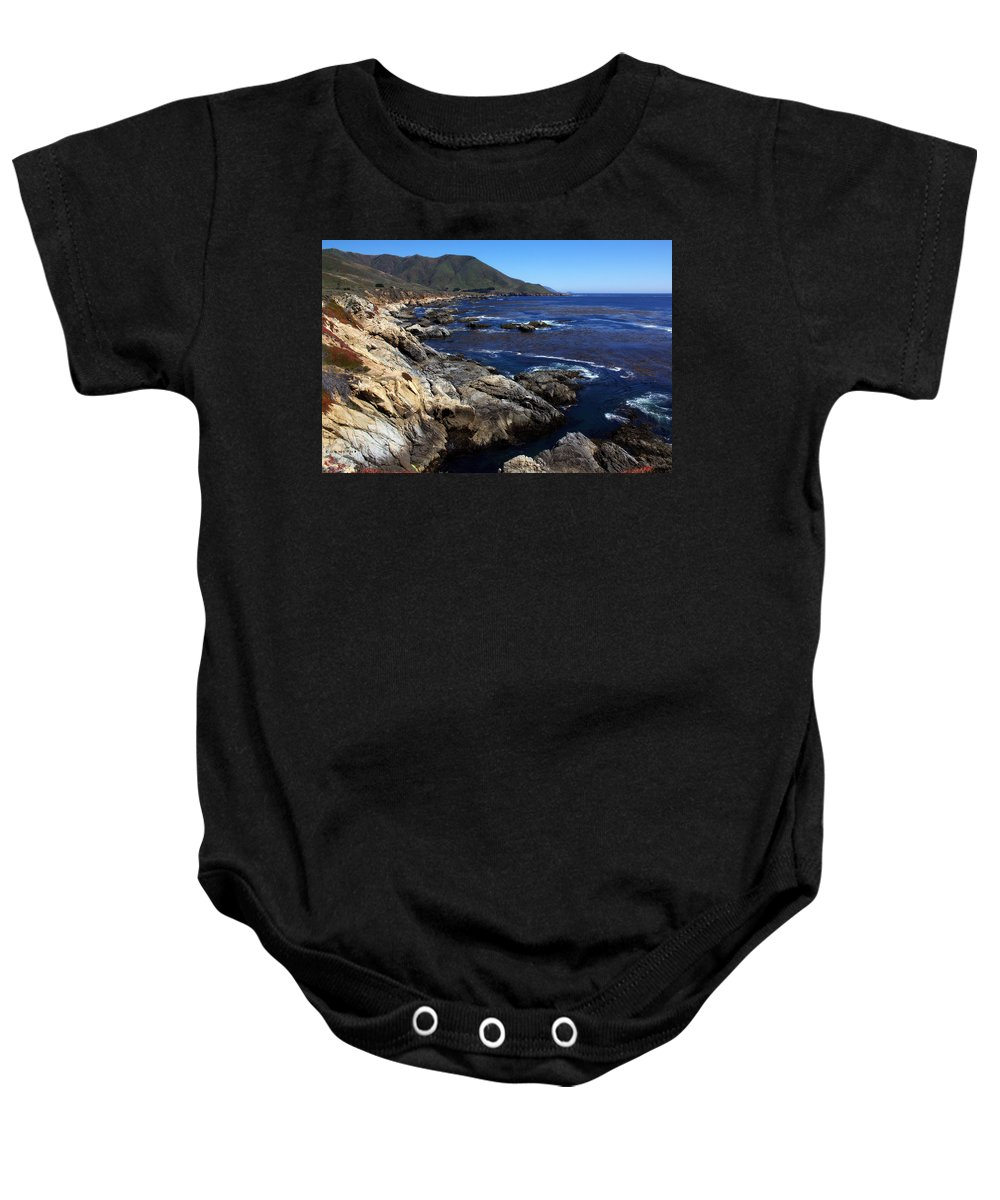 Blue Dreams Baby Onesie featuring the photograph Blue Dreams by Edward Smith
