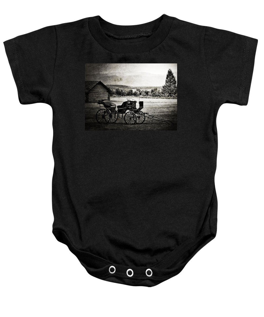 Old Days Baby Onesie featuring the photograph Breath Of Old by The Artist Project
