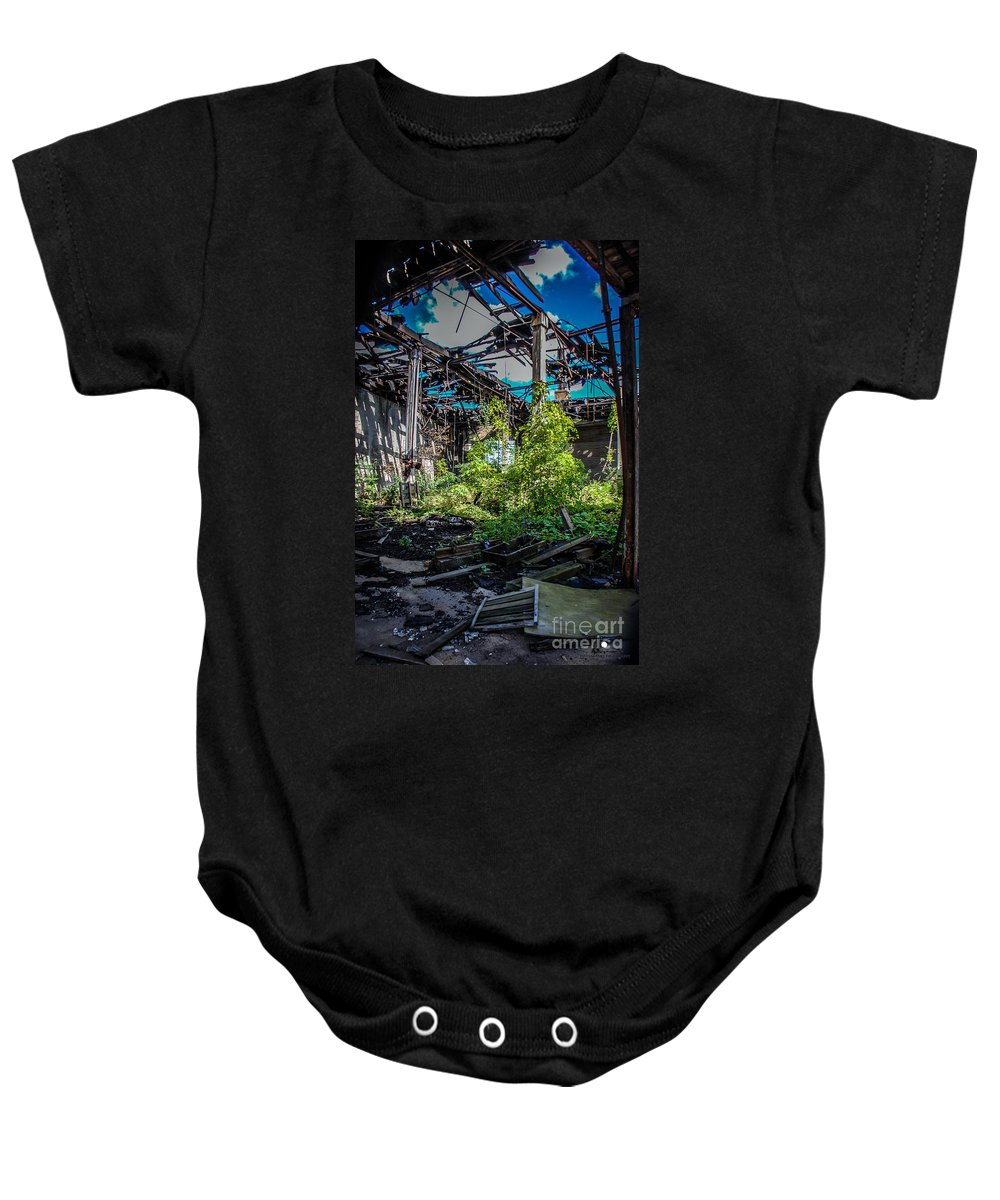 Destruction Baby Onesie featuring the photograph Bring The Outside In 2 by Grace Grogan