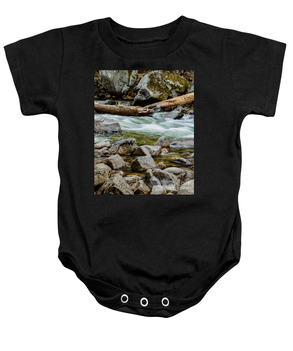 Yosemite Baby Onesie featuring the photograph Broken Giant Yosemite by Terry Garvin