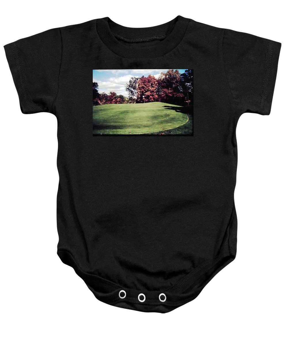 Golf Baby Onesie featuring the photograph Brookhill Golf Course by Gary Wonning