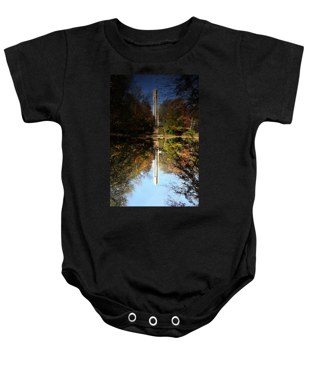 Butler University Baby Onesie featuring the photograph Butler University Carillon 2 by Dan McCafferty