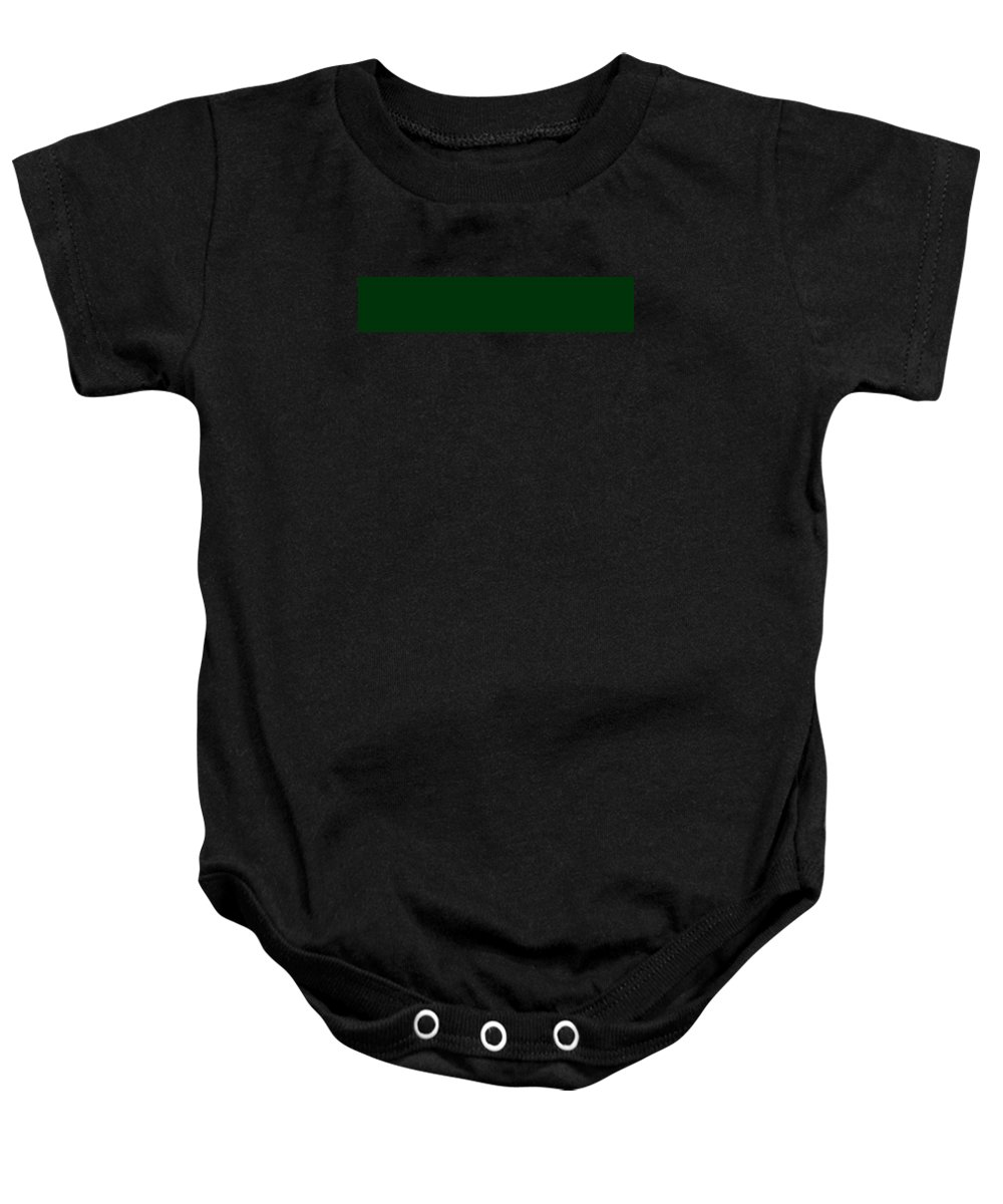 Abstract Baby Onesie featuring the digital art C.1.0-51-10.5x1 by Gareth Lewis