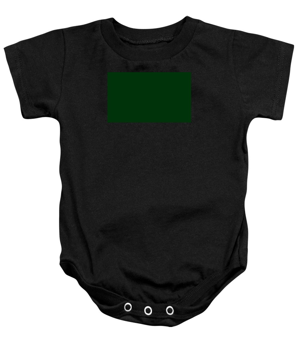 Abstract Baby Onesie featuring the digital art C.1.0-51-10.5x3 by Gareth Lewis
