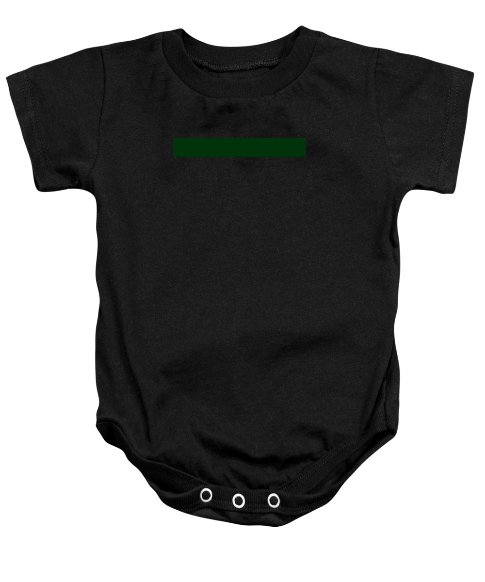 Abstract Baby Onesie featuring the digital art C.1.0-51-10.7x1 by Gareth Lewis