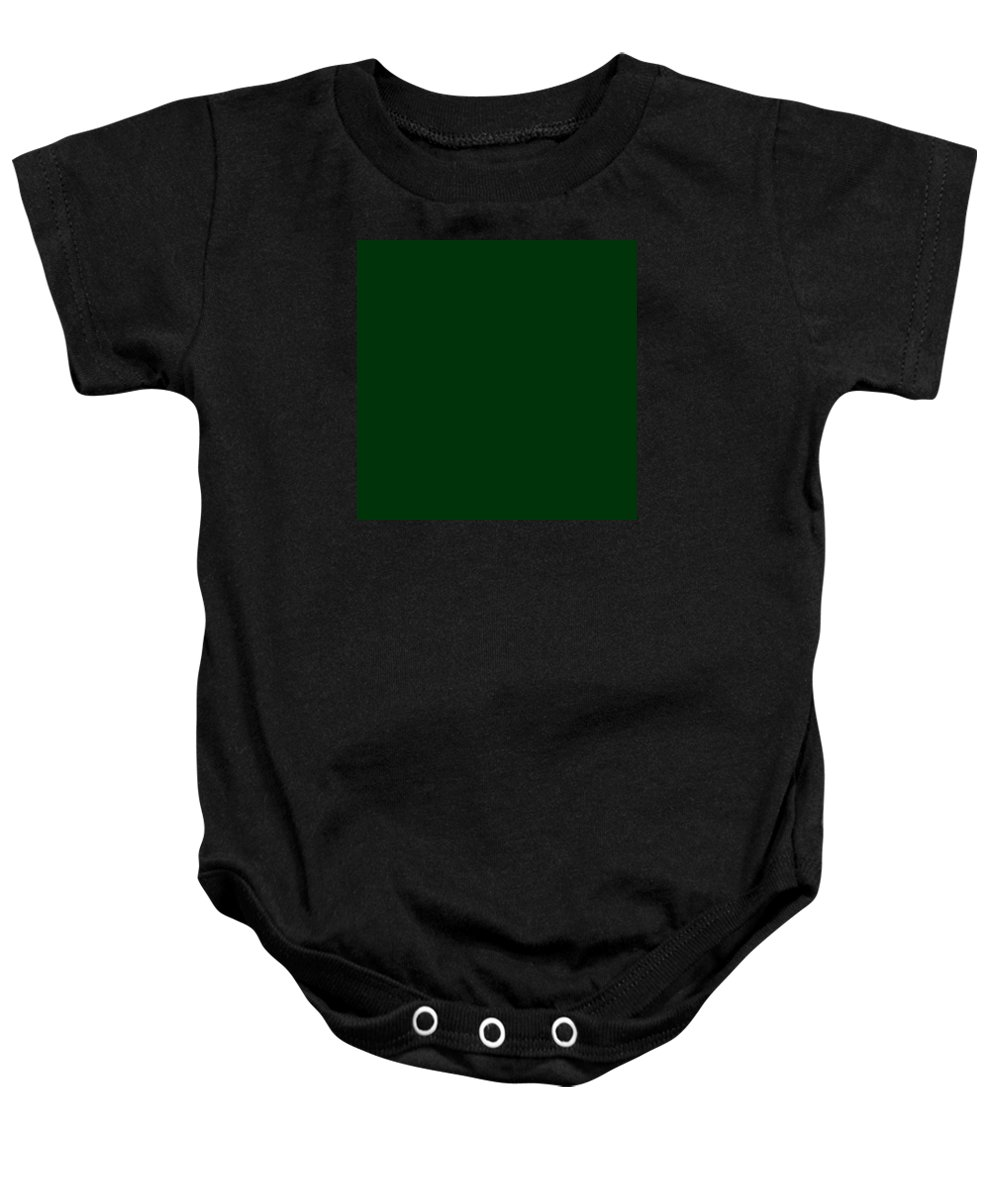 Abstract Baby Onesie featuring the digital art C.1.0-51-10.7x7 by Gareth Lewis