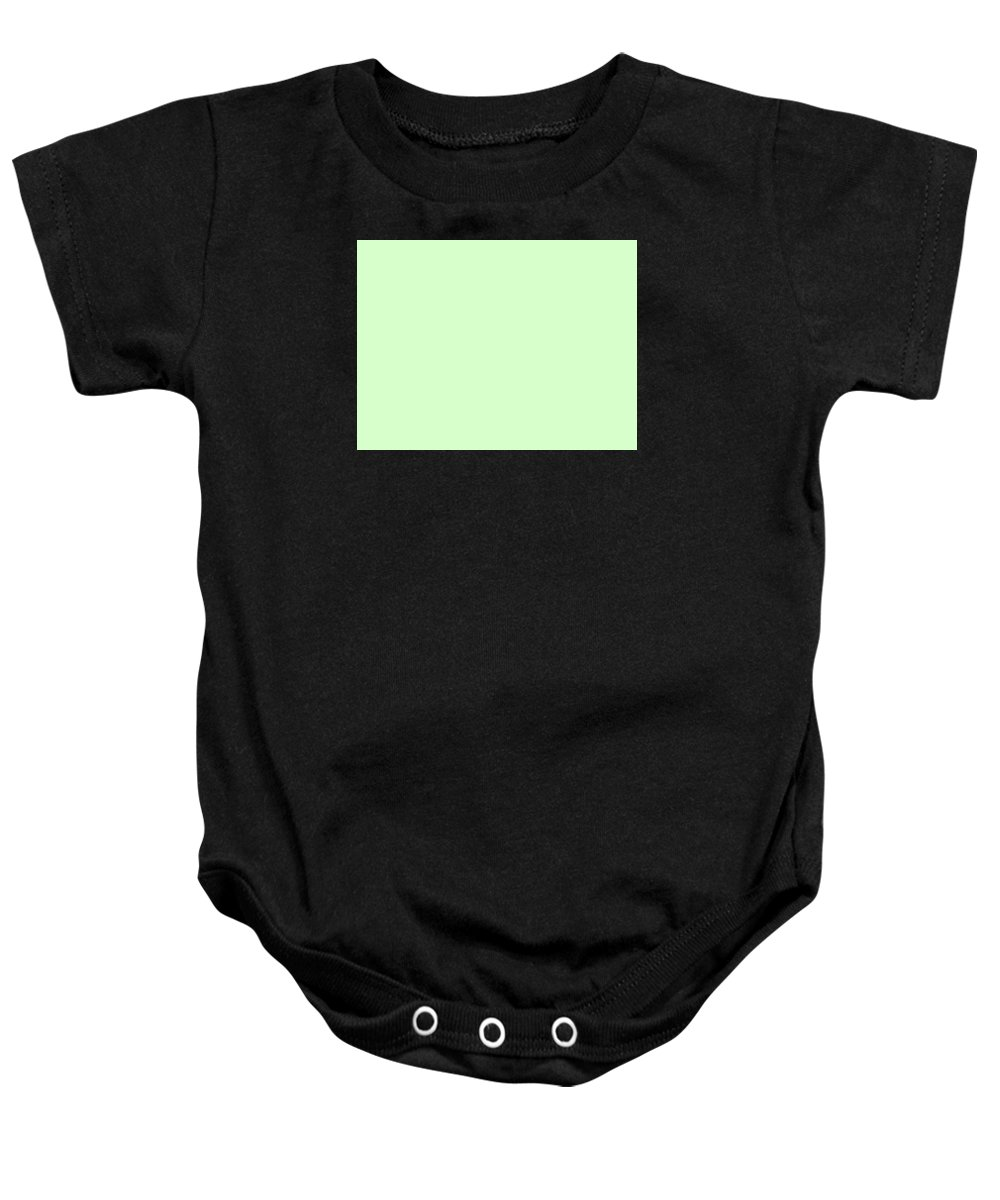 Abstract Baby Onesie featuring the digital art C.1.215-255-204.4x3 by Gareth Lewis