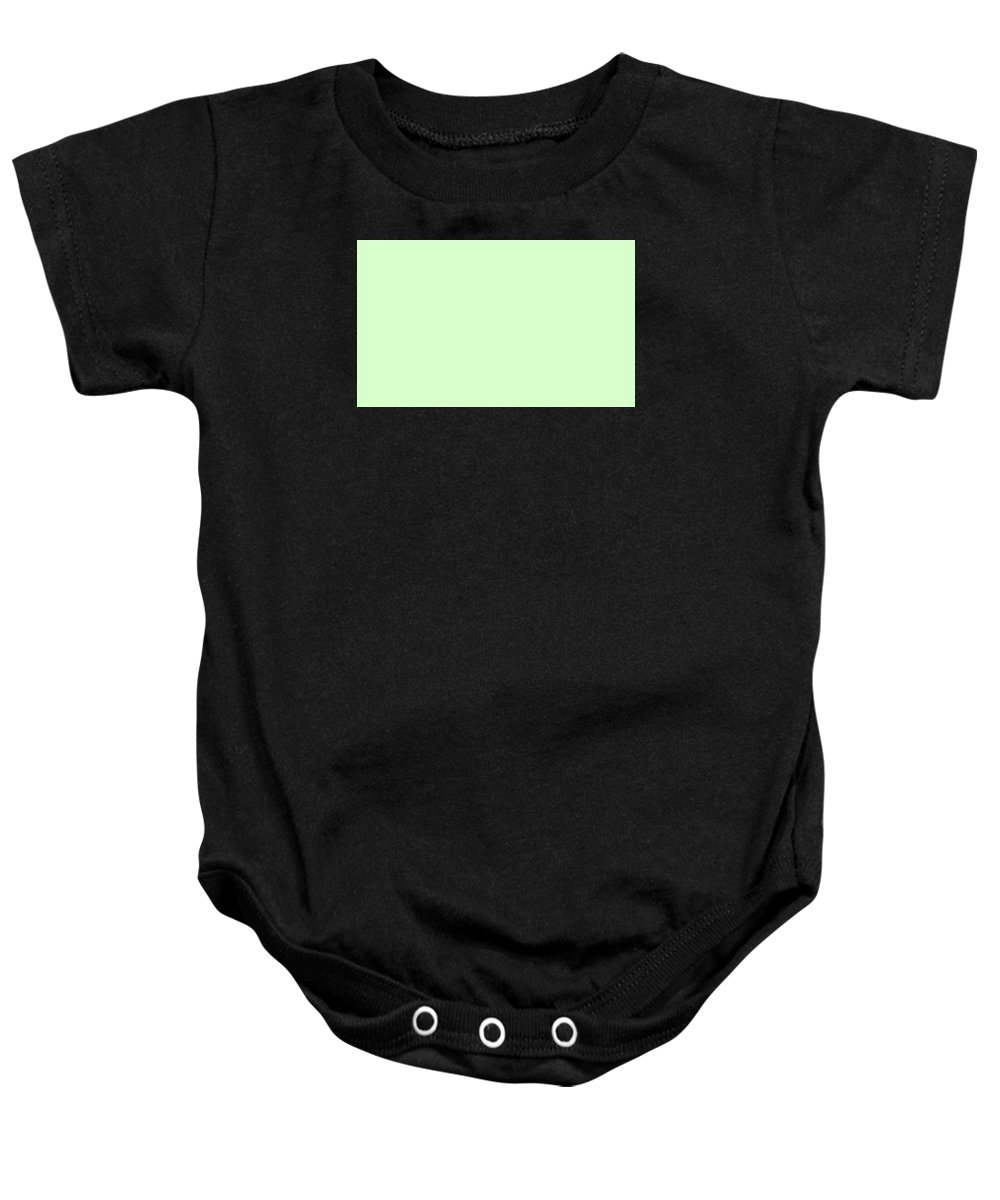 Abstract Baby Onesie featuring the digital art C.1.215-255-204.5x3 by Gareth Lewis