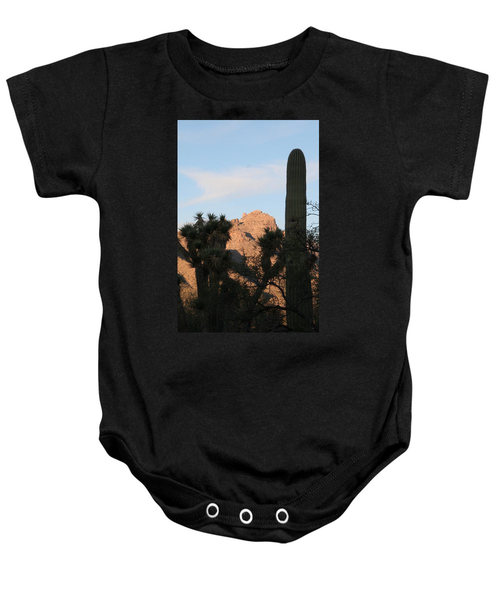 Tucson Baby Onesie featuring the photograph Cacti by David S Reynolds